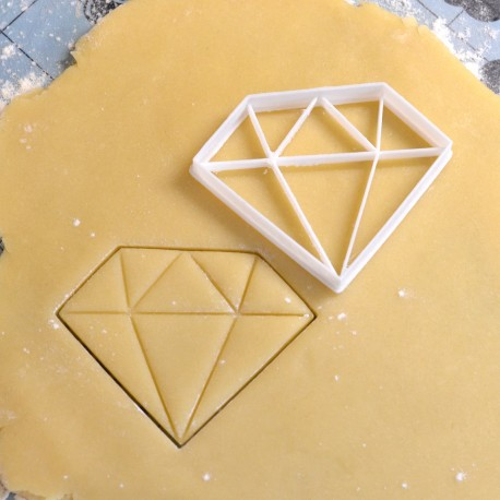 Emporte-pièce Diamant - Grand modèle