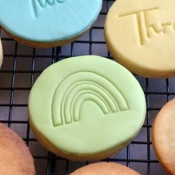 Tampon à biscuit Arc-En-Ciel
