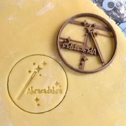 Abracadabra cookie cutter