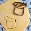 Magician hat cookie cutter