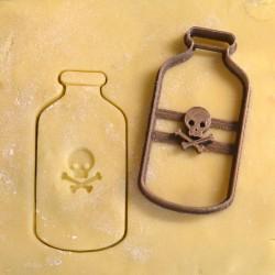 Poison Bottle cookie cutter