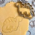 Dinosaur cookie cutter - V1