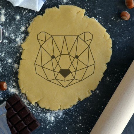 Polar Bear Origami cookie cutter