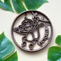 Custom Monkey cookie cutter
