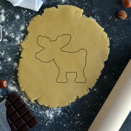 silhouette Reindeer cookie cutter