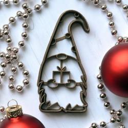 Emporte-pièce Gnome de Noël