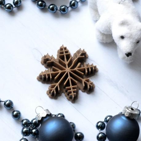 Tampon à biscuit Flocon de neige
