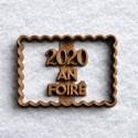 2020 An Foiré cookie cutter - Lockdown cookie