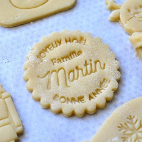 Joyeux Noël cookie cutter - custom