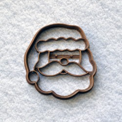 Santa Claus cookie cutter Head
