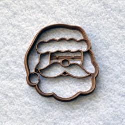 Santa Claus cookie cutter Head