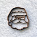 Emporte-pièce Père Noël - Tête