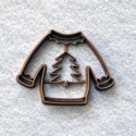 Ugly sweater cookie cutter - Christmas sweater
