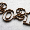 No. 1 Numbers cookie cutter