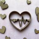 heartbeat cookie cutter