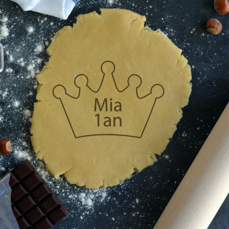 Custom Crown cookie cutter