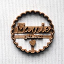 Emporte-pièce Mamie Gâteaux