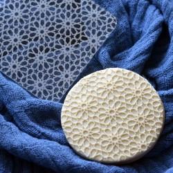 Embosseur Motif arabesques - Tampon Pâte à sucre Aïd