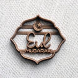 Emporte-pièce Eid Mubarak Croissant de Lune