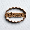 Custom Scalloped oval cookie cutter