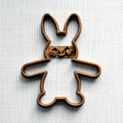 Easter bunny cookie cutter Almond holder