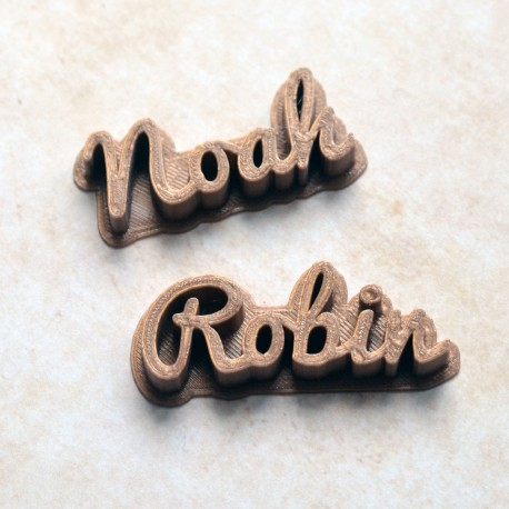 Stamp custom cookie cutter Name - Personalized