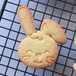 Cute Rabbit head cookie cutter