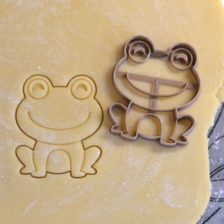 Frog cookie cutter