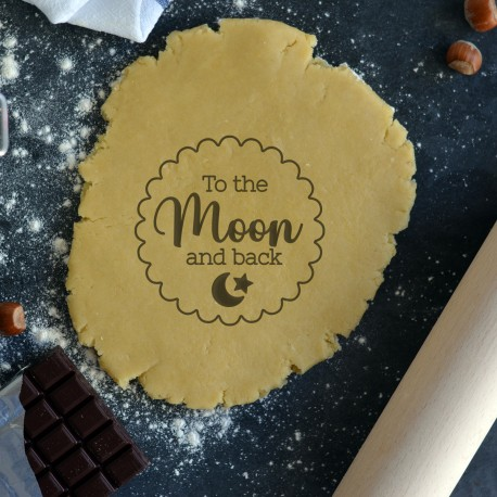 To the Moon and back cookie cutter