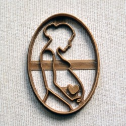 Pregnant Cookie Cutter