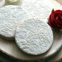 Embosseur Motif Roses - Tampon Pâte à sucre Fleur