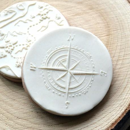 Compass Fondant Embosser