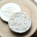 Embosseur Carte au trésor - Tampon Pâte à sucre Pirates