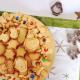 Bear can hold an almond cookie cutter