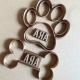 Emporte-pièce Os de chien avec prénom personnalisable