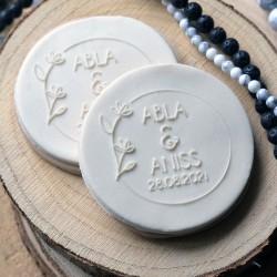 Custom Fondant Embosser - Wedding Stamp