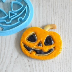 Halloween Pumpkin cookie cutter