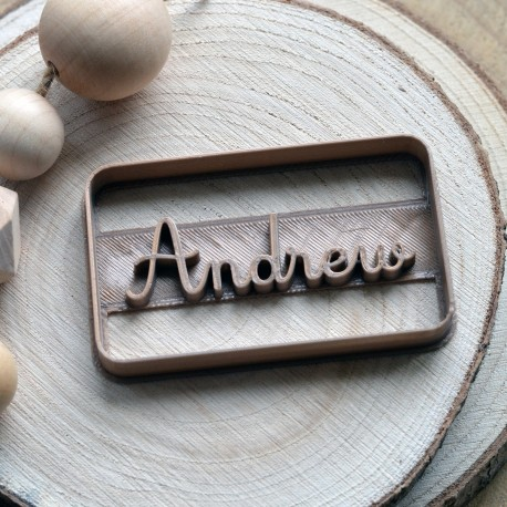 Custom cookie cutter with name - Personalized