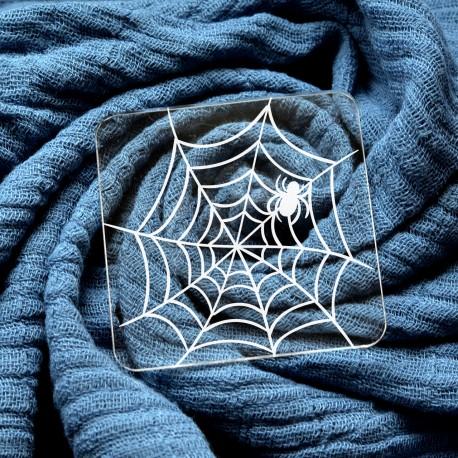 Spider web Halloween Fondant Embosser