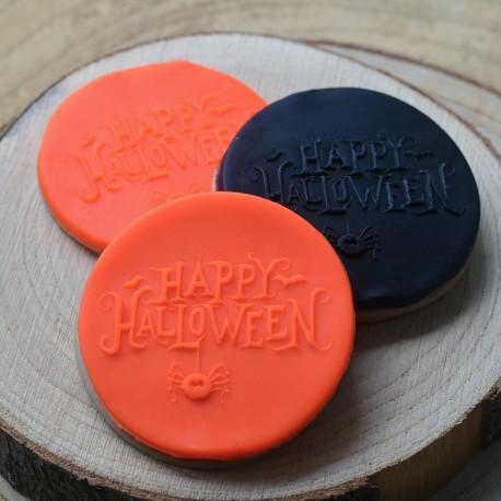 Embosseur Happy Halloween - Tampon Pâte à sucre Halloween