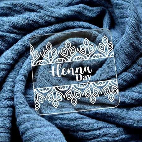 Embosseur Henna Day - Tampon Pâte à sucre