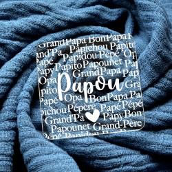 Embosseur Papy surnoms grand-pères - Tampon Pâte à sucre Fête des grand-pères