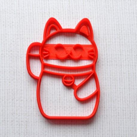 Lucky Cat - Maneki Neko cookie cutter
