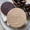 Fondant Embosser Bonne fête Papy - Grand Father's day