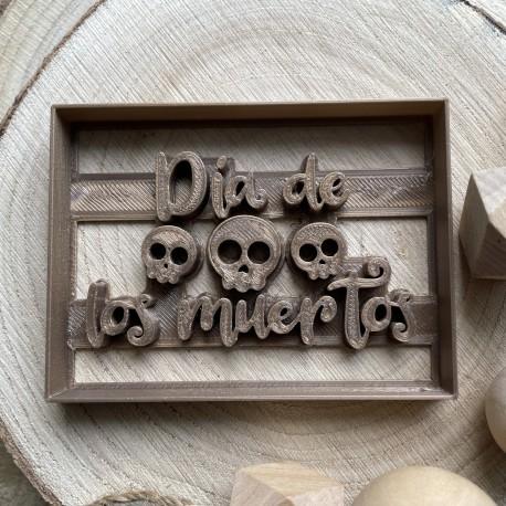 Emporte-pièce Dia de los muertos