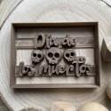 Dia de los muertos cookie cutter