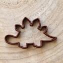 Dinosaur cookie cutter Stegosaurus