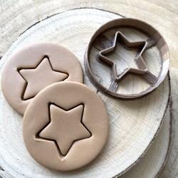 Star Circle cookie cutter
