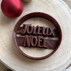 Joyeux Noël cookie cutter