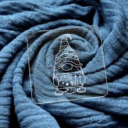 Embosseur Gnome Joyeux Noël - Tampon Pâte à sucre Noël